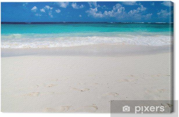 Obraz na płótnie Tropikalnego morza - Pory roku
