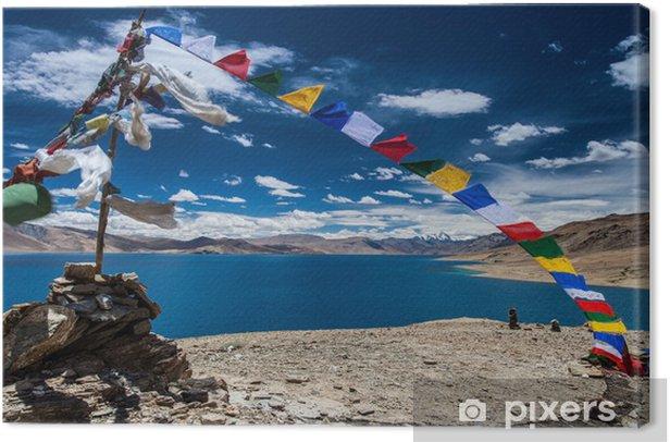 Obraz na płótnie Tso-Moriri jezioro - Azja