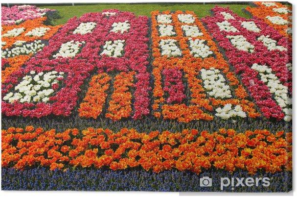 Obraz na płótnie Tulipanów w Keukenhof parku - Wolność