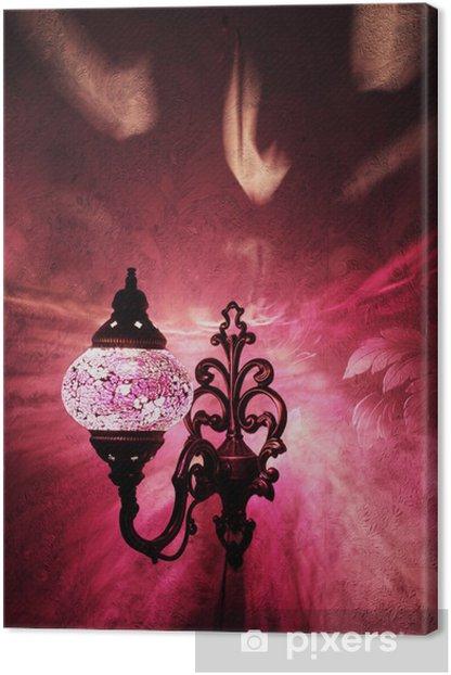 Obraz na płótnie Turecki handmade lampa - Bliski Wschód