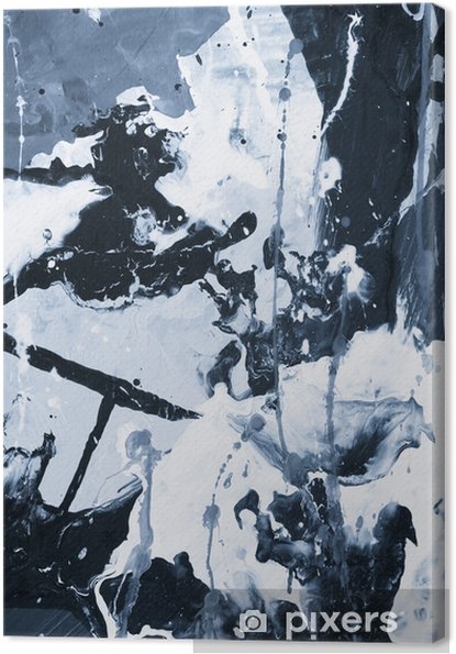 Obraz na płótnie Twórczy streszczenie ręcznie malowane tła. - Zasoby graficzne