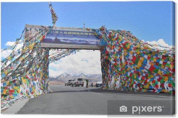 Obraz na płótnie Tybet, Himalaje, płuc la la Przełęcz, 5124 m npm - Azja