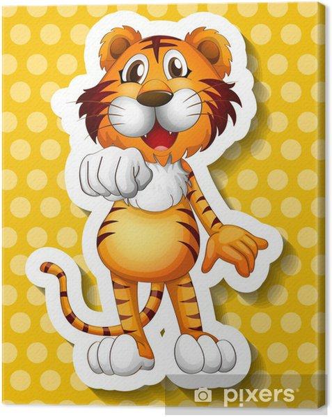 Obraz na płótnie Tygrys - Ssaki