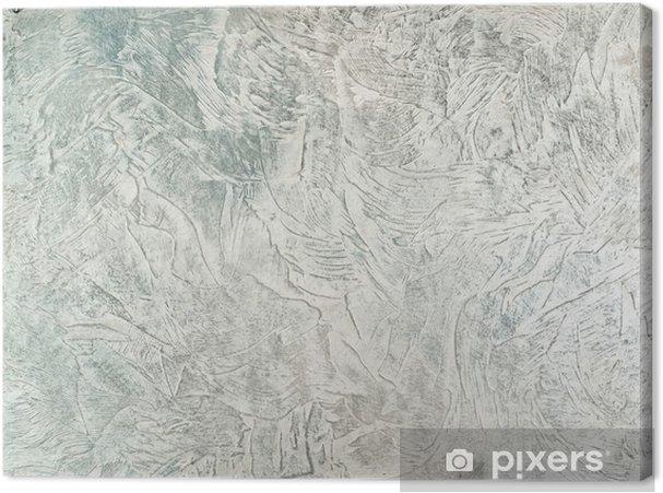 Obraz na płótnie Tynki dekoracyjne niebieski i white3 - Sztuka i twórczość
