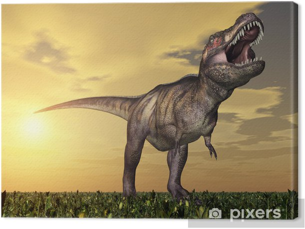 Obraz na płótnie Tyrannosaurus Rex - Tematy