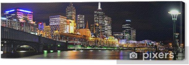 Obraz na płótnie Uferpromenade w Melbourne - Tematy