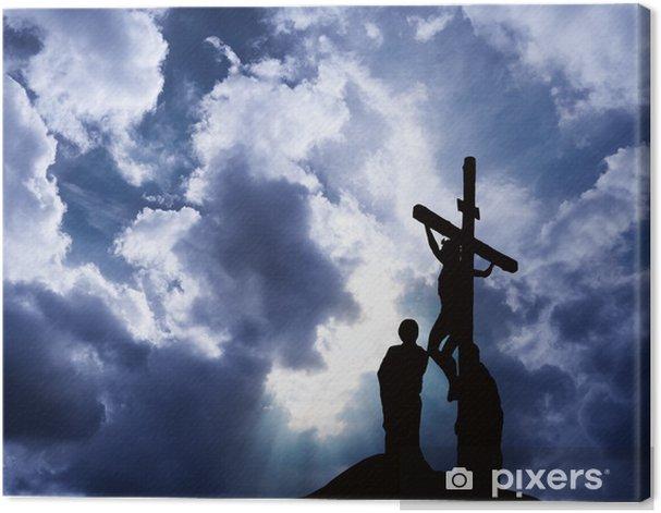 Obraz na płótnie Ukrzyżowanie Jezusa - Religie