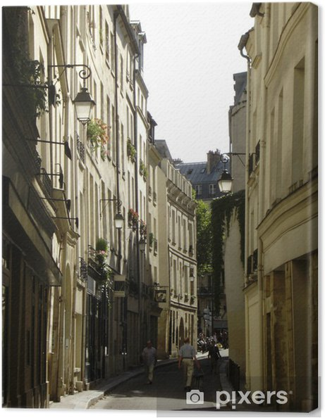 Obraz na płótnie Ulica Bievre - Infrastruktura