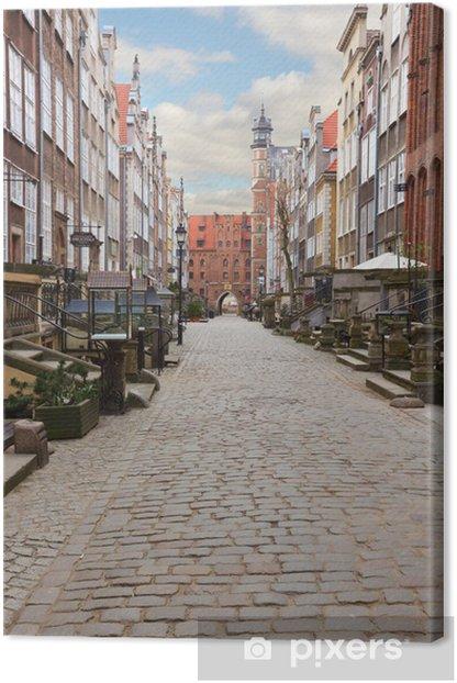 Obraz na płótnie Ulica Mariacka, Gdańsk, Polska - Tematy