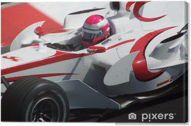 Obraz na płótnie Un en français F1 - Tematy