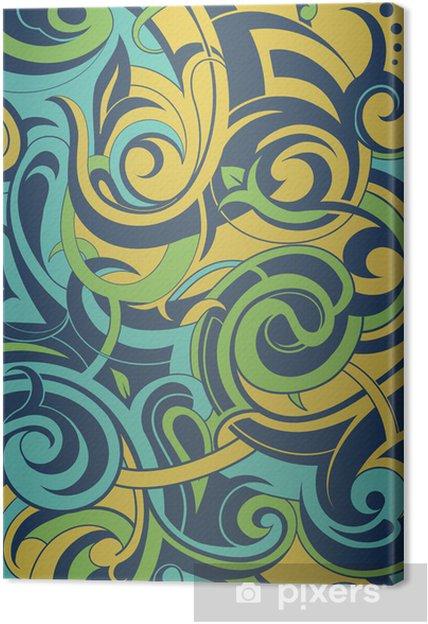 Obraz na płótnie Underwater abstrakcja - Tła