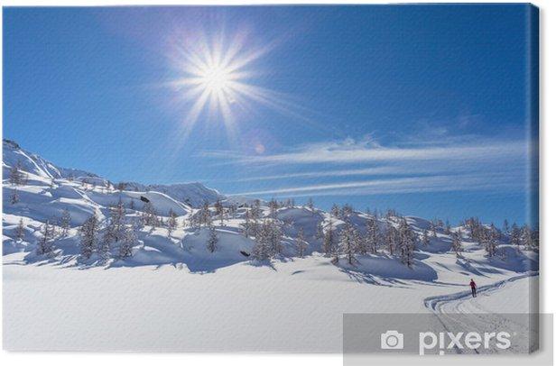 Obraz na płótnie Urlop zimowy - Wakacje