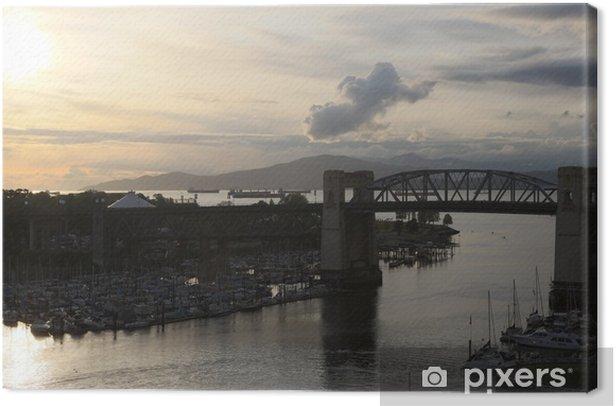 Obraz na płótnie Vancouver słońca - Ameryka