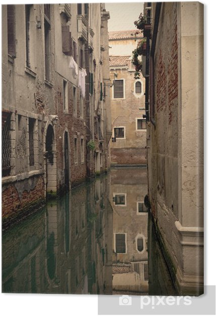 Obraz na płótnie Venice Canal - Miasta europejskie