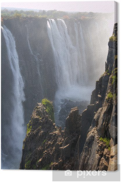 Obraz na płótnie Victoria Falls - Zimbabwe, Afryka - Cuda natury