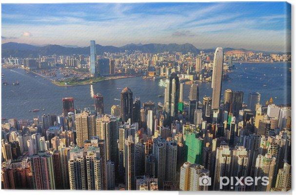 Obraz na płótnie Victoria Harbour - Miasta azjatyckie