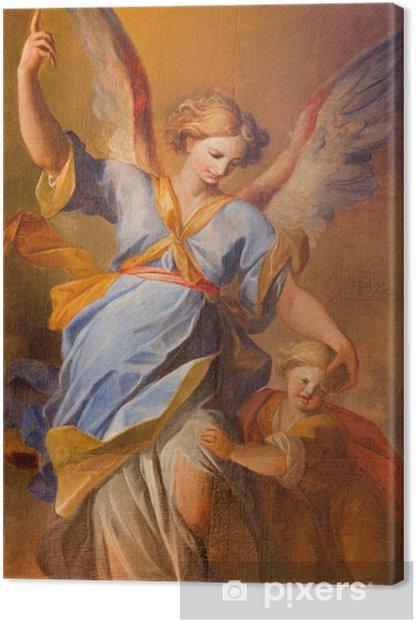 Obraz na płótnie Vienna - ból anioł stróż w barokowym kościele jezuitów - Tematy