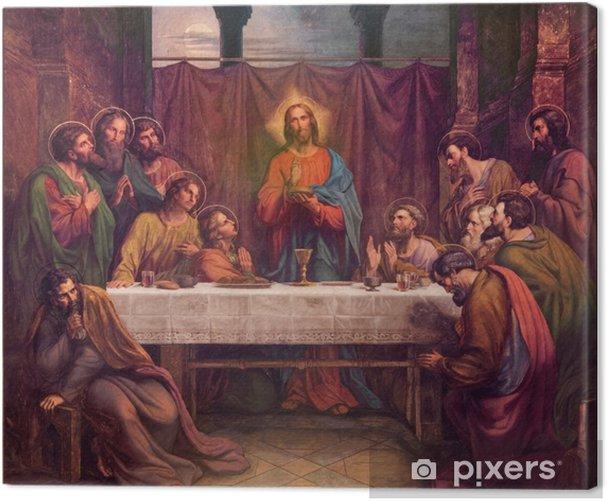 Obraz na płótnie Vienna - Fresco Ostatnie Suppe w Altlerchenfelder kościoła - Tematy