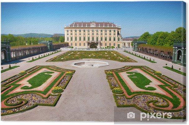 "Obraz na płótnie Vienna - Schönbrunn Castle - Korona Książęca ""ogród - Miasta europejskie"
