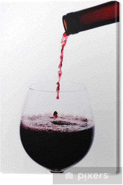 Obraz na płótnie Vino rosso vivace - czerwone wino - Tematy