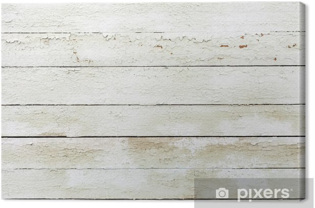 Obraz na płótnie Vintage biały drewniane starego muru - Tekstury
