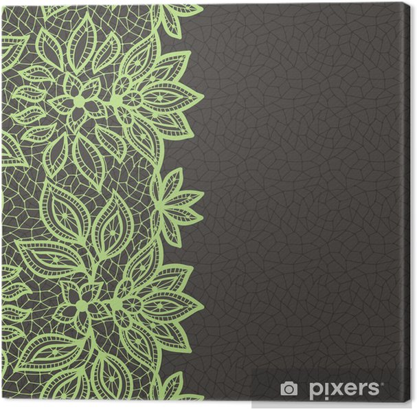 8b0ac93f089878 Obraz na płótnie Vintage Lace tło, abstrakcyjny ornament. Vector, tekstury.
