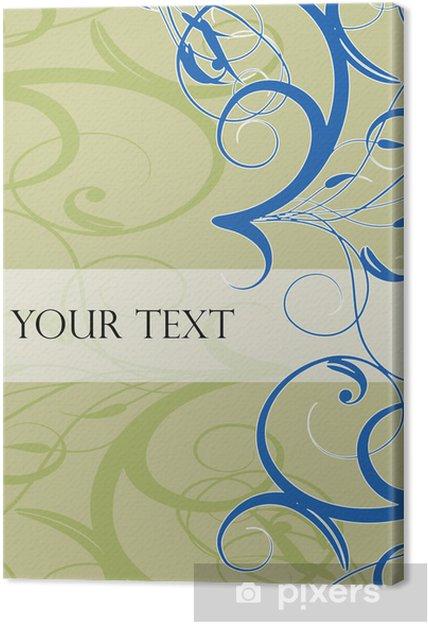Obraz na płótnie Vintage Style Book Cover - Tła
