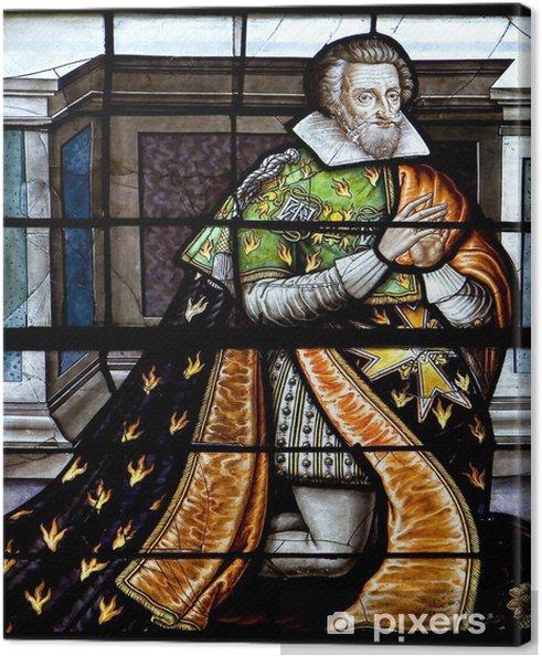 Obraz na płótnie Vitrail de Henri IV - Sztuka i twórczość
