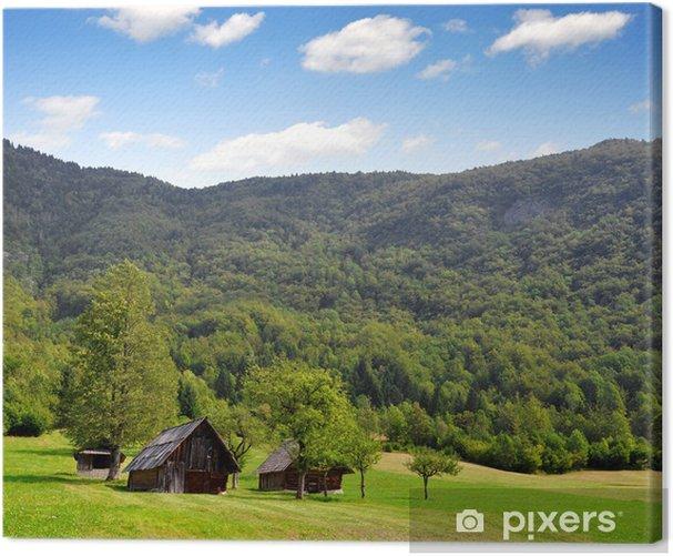 Obraz na płótnie Voje Dolina i Park Narodowy Triglav - Alpy Julijskie, Słowenia - Europa