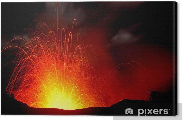 Obraz na płótnie Vulkanausbruch - Klęski żywiołowe