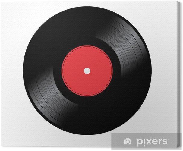 Obraz na płótnie Vynil disc - Muzyka