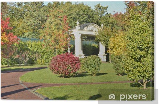 Obraz na płótnie W parku jesienią - Krajobraz wiejski
