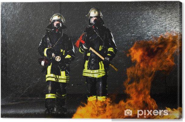 Obraz na płótnie W pożarze - Zawody