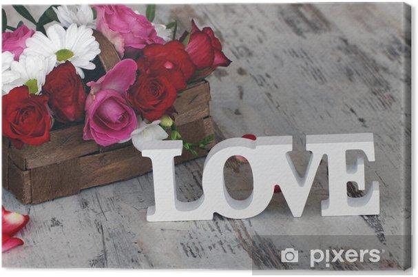 Obraz na płótnie Walentynki - Święta międzynarodowe