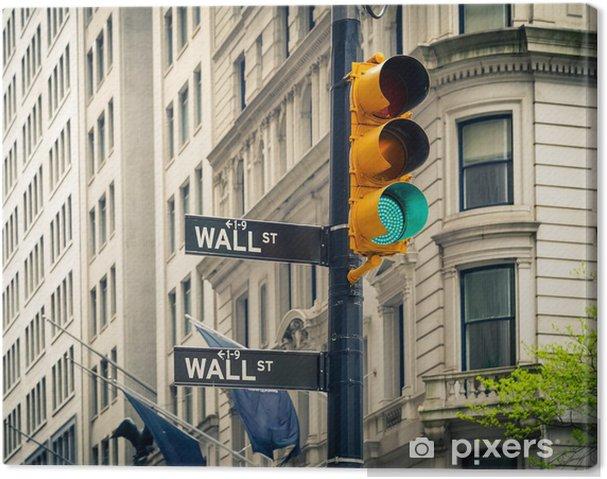 Obraz na płótnie Wall Street, Nowy Jork - Miasta amerykańskie