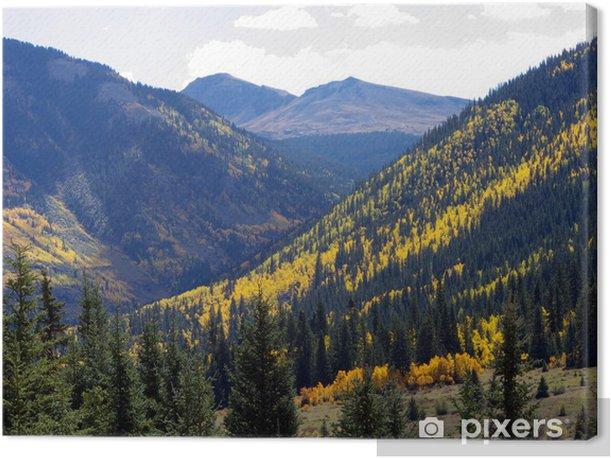 Obraz na płótnie Warstwy górskie - Góry