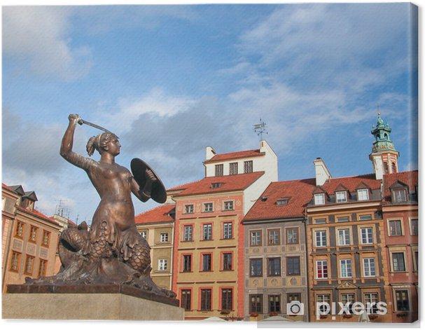 Obraz na płótnie Warszawska Syrenka - Tematy