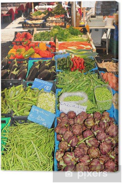 Obraz na płótnie Warzywa - Przeznaczenia