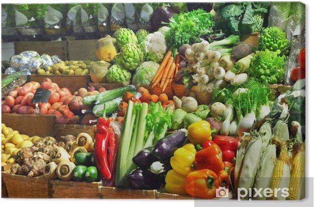 Obraz na płótnie Warzywa - Posiłki