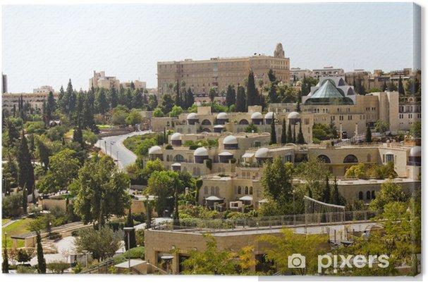 Obraz na płótnie Wąskie uliczki starego miasta. Jerusalem. - Bliski Wschód