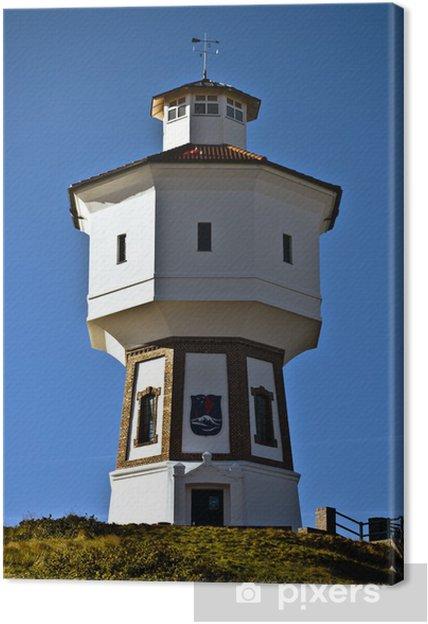 Obraz na płótnie Water Tower Langeoog - Wakacje