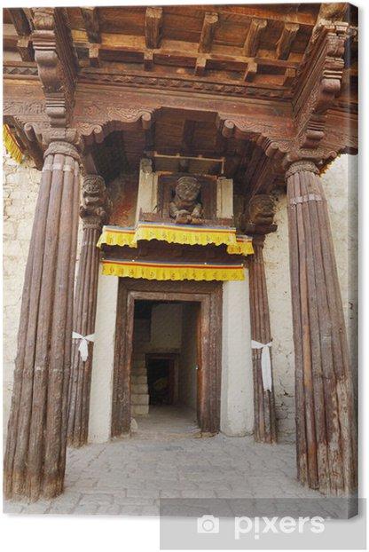 Obraz na płótnie Wejście do pałacu w Leh - Azja