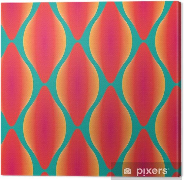 Obraz na płótnie Wektor kolorowe abstrakcyjne bez szwu geometryczny wzór współczesnej - Zasoby graficzne