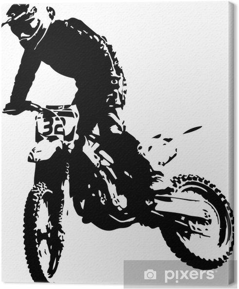 Obraz na płótnie Wektora mx rider - Sporty ekstremalne
