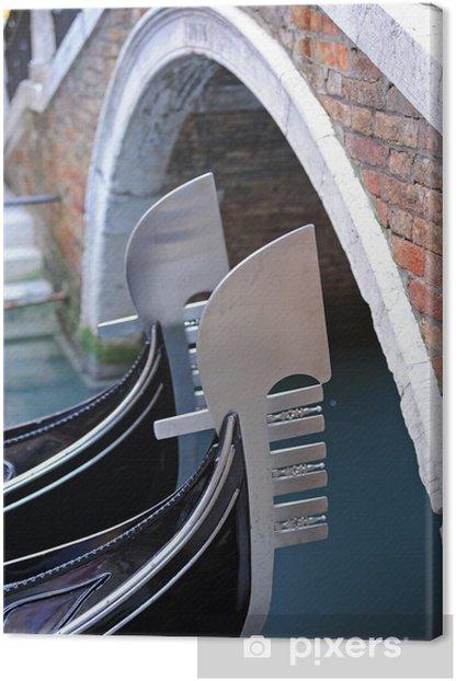 Obraz na płótnie Wenecja gondole 908 - Miasta europejskie