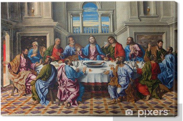 Obraz na płótnie Wenecja - Ostatnia Wieczerza Chrystusa przez Girolamo da Santacroce - Tematy