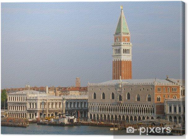 Obraz na płótnie Wenecja - Pałac Dożów i Campanile - Miasta europejskie