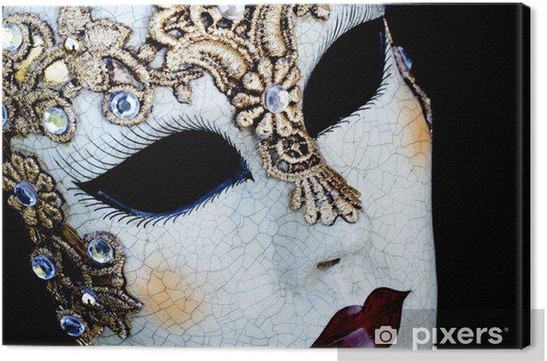Obraz na płótnie Weneckie maski -