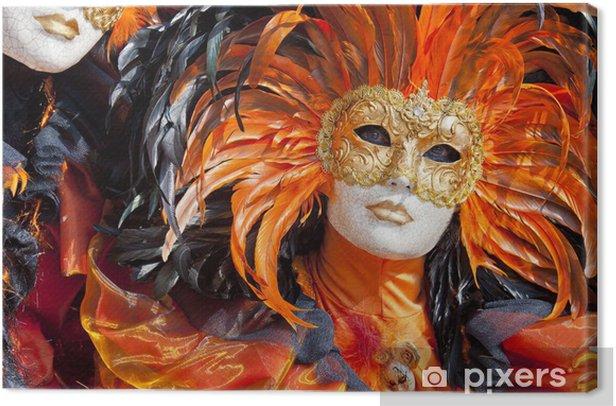 Obraz na płótnie Weneckie maski - Rozrywka