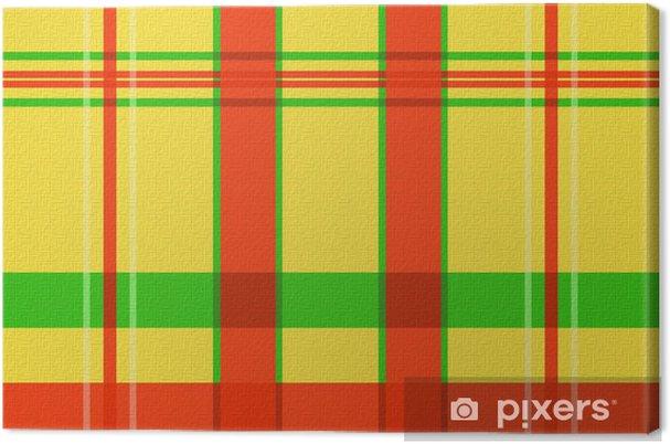 Obraz na płótnie West Indian tkaniny madras - Tła